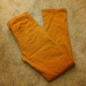 Forever 21 Mustard jeans